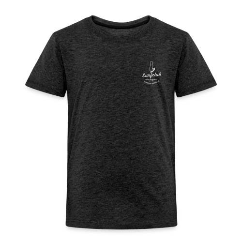 logo_surfclub_weiss_RZ - Kinder Premium T-Shirt