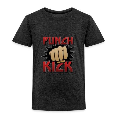 Punch Kick - Fist - Kids' Premium T-Shirt