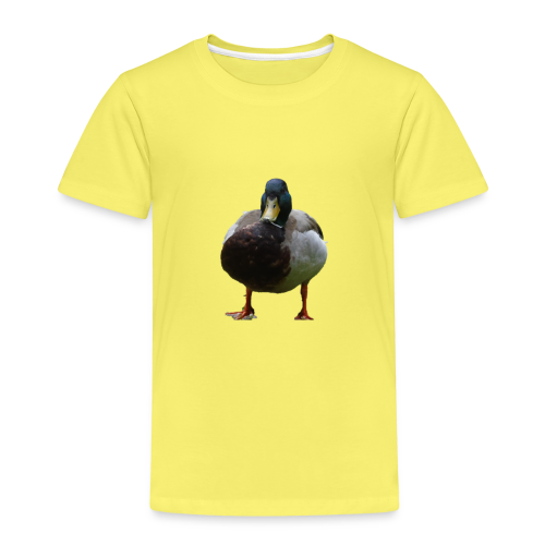 A lone duck - Kids' Premium T-Shirt