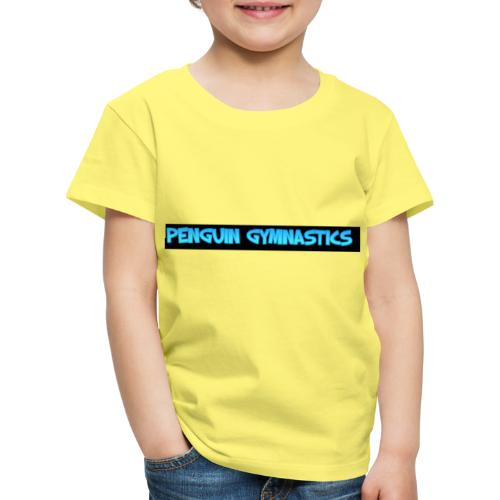 The penguin gymnastics - Kids' Premium T-Shirt