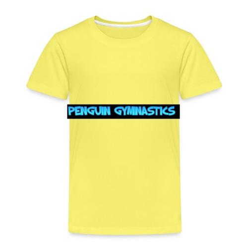 The gymnastics penguin - Kids' Premium T-Shirt