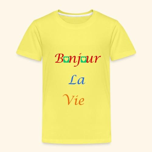 Bonjour La Vie - T-shirt Premium Enfant