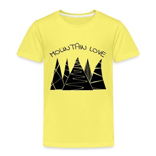 Outdoor Berge Alpen Mountain Love - Kinder Premium T-Shirt