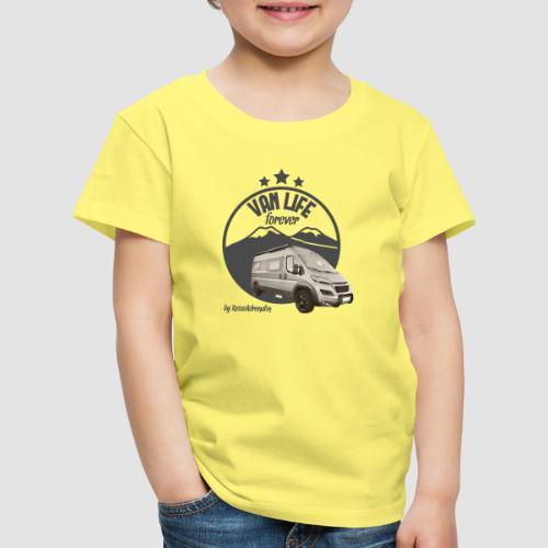 Vanlife forever retro - Kinder Premium T-Shirt