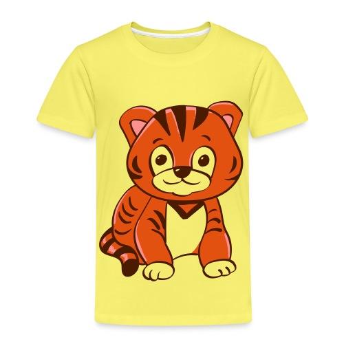 Bébé tigre orange et noir - T-shirt Premium Enfant