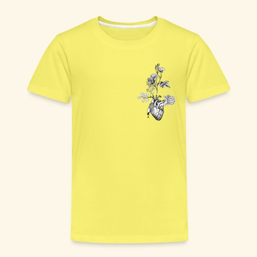 Flower Heart - Kinder Premium T-Shirt