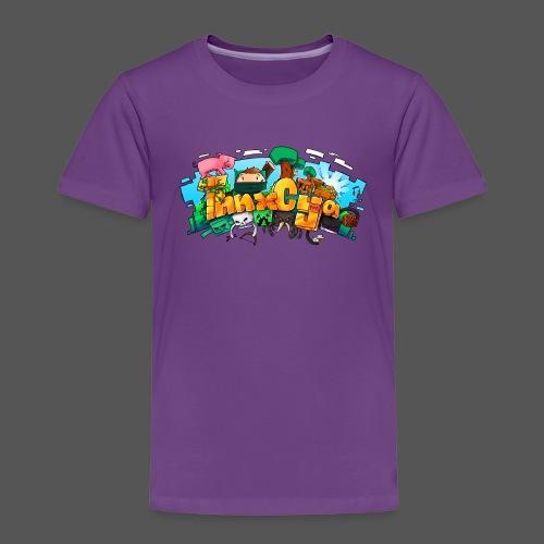 ThnxCya tshirt design 01 big by Jonas Nacef png - Kids' Premium T-Shirt