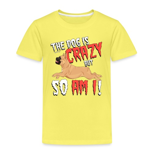 French Bulldog Crazy 6 - Kids' Premium T-Shirt