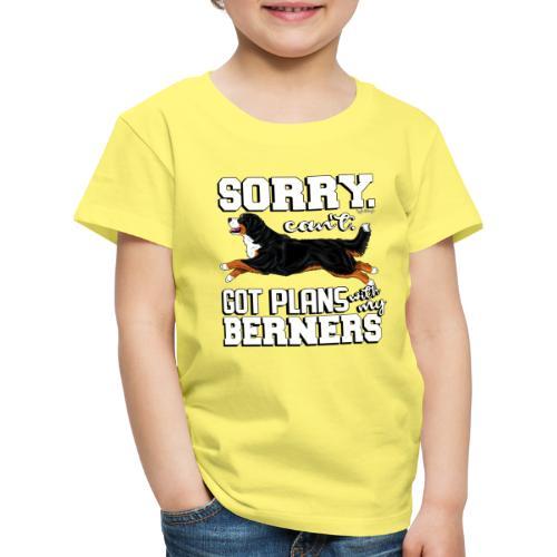 Bernese Berner Plans 2 - Lasten premium t-paita