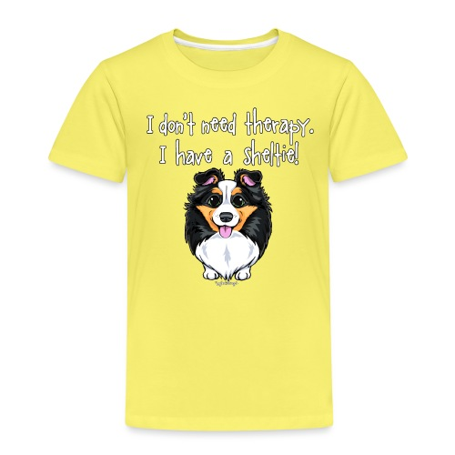 Sheltie Dog Therapy - Kids' Premium T-Shirt