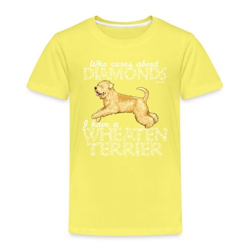 Wheaten Terrier Diamonds 3 - Kids' Premium T-Shirt