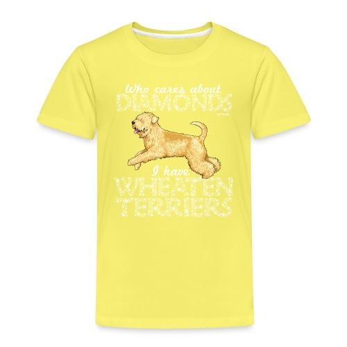 Wheaten Terrier Diamonds 2 - Kids' Premium T-Shirt