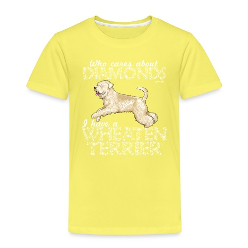 Wheaten Terrier Diamonds 4 - Kids' Premium T-Shirt