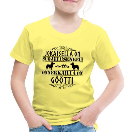 Vallhund Göötti Enkeli 2 - Lasten premium t-paita