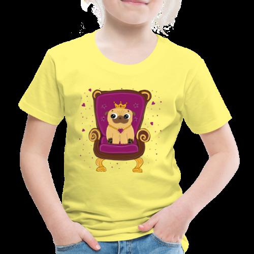 Frieda die Mopskönigin - Kinder Premium T-Shirt