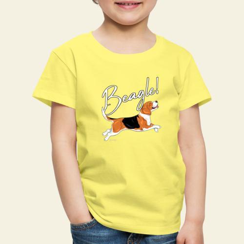 Beagle - Lasten premium t-paita