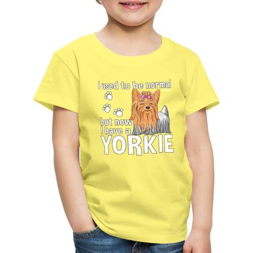 Yorkie Normal - Lasten premium t-paita