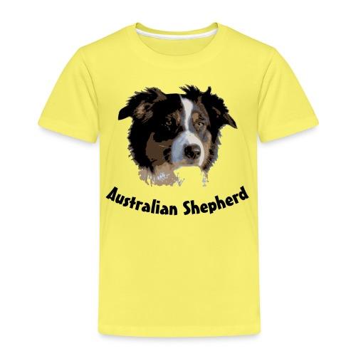 australian shepherd aussie hund hüte hüten border - Kinder Premium T-Shirt