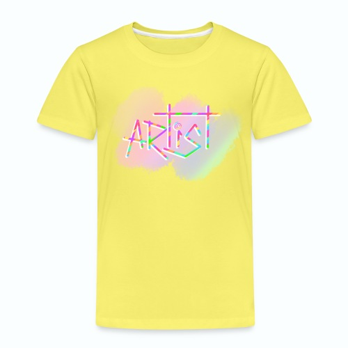 Artist in Colors - Camiseta premium niño
