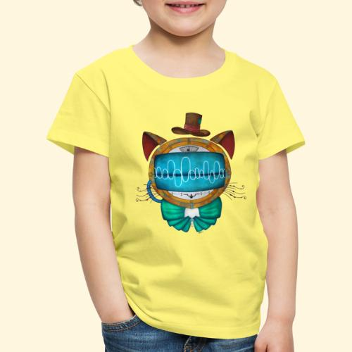 Shoupignon - Chat robot Steampunk - T-shirt Premium Enfant