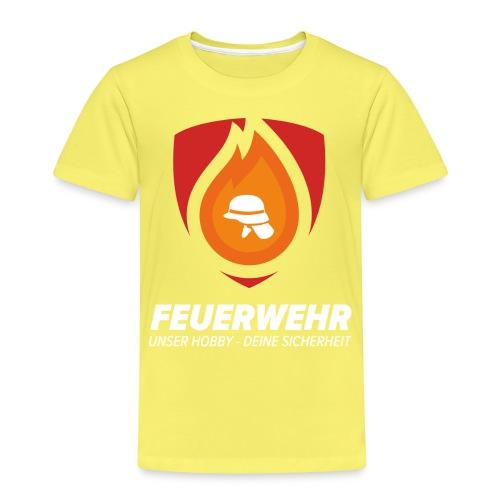 Feuerwehr- Unser Hobby - Deine Sicherheit - Kinder Premium T-Shirt