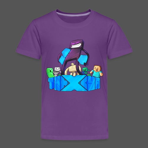 ThnxCya tshirt like an enderman by Jonas Nacef png - Kids' Premium T-Shirt