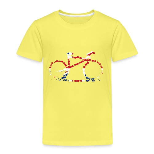 GB Cycling Chain Print - Kids' Premium T-Shirt