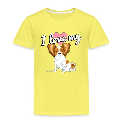 papilove3 - Kids' Premium T-Shirt