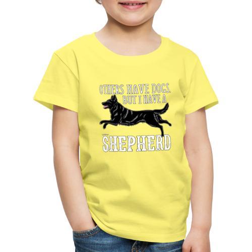 GSD Shepherd Dogs 3 - Lasten premium t-paita
