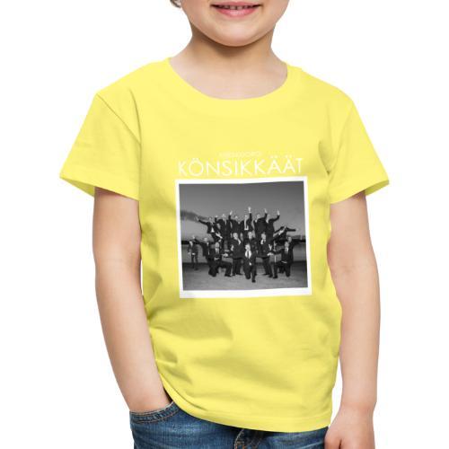Könsikkäät - joulu saarella - Lasten premium t-paita