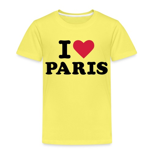 I Love Paris 3 - T-shirt Premium Enfant