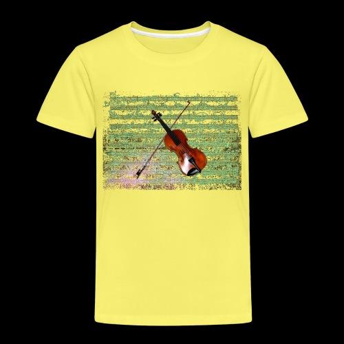 Violin - Kids' Premium T-Shirt