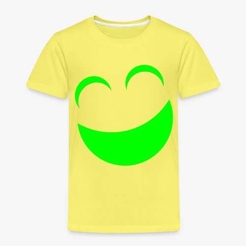 sonrrisa verde - Camiseta premium niño