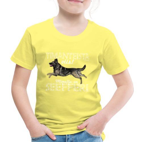 Saksanpaimen Dimangit - Lasten premium t-paita
