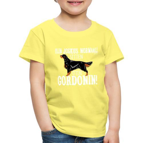 Gordoninsetteri Normaali - Lasten premium t-paita