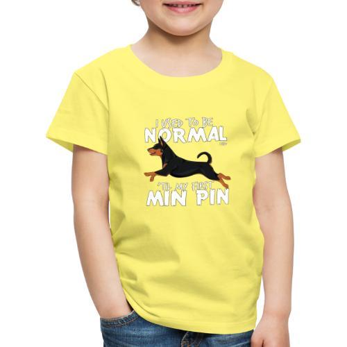 minpinnormal - Lasten premium t-paita