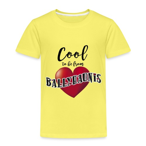 Ballyhaunis tshirt Recovered - Kids' Premium T-Shirt