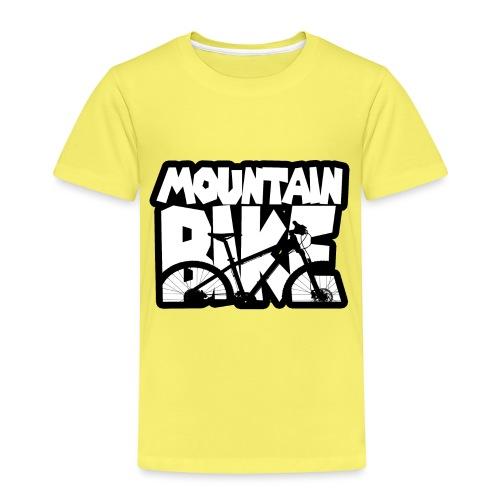 Mountain Bike - Maglietta Premium per bambini