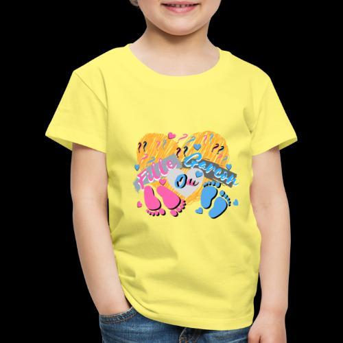 bébé fille ou garçon maman est enceinte ???? - T-shirt Premium Enfant