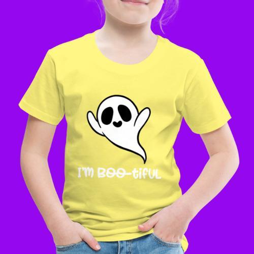 I'm boo-tiful (gefüllte Buchstaben) - Kinder Premium T-Shirt