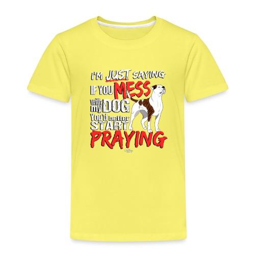 ambpraying3 - Kids' Premium T-Shirt