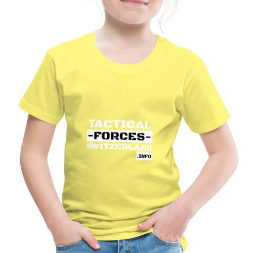 TFS Black and White stencil - T-shirt Premium Enfant