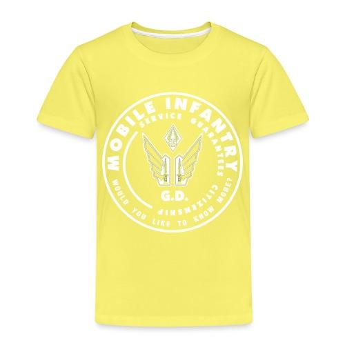 Mobile Infantry (weiß) - Kinder Premium T-Shirt
