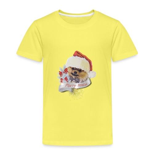Pomeranian Shirt Weihnachtsshirt Xmas - Zwergspitz - Kinder Premium T-Shirt