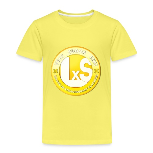 LxS Clan Logo - Premium T-skjorte for barn