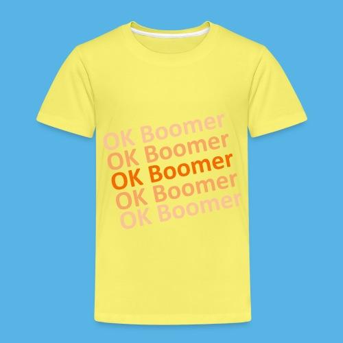 Ok Boomer - Kinder Premium T-Shirt