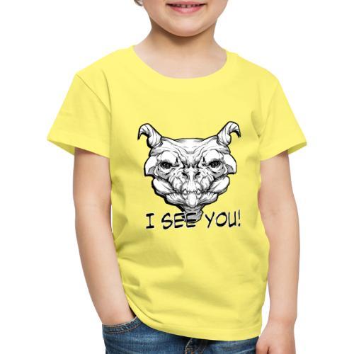 Monstre - T-shirt Premium Enfant
