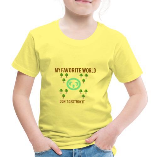 My world - Camiseta premium niño