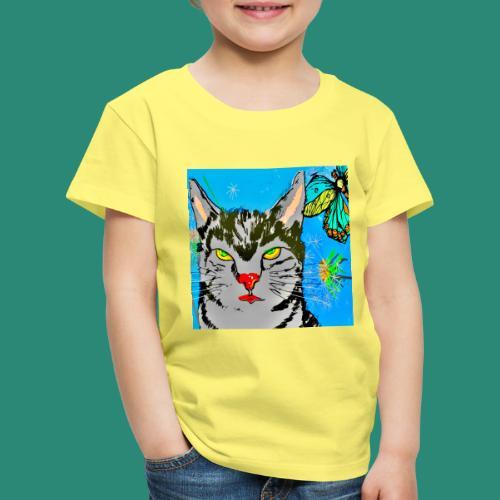 Kater Ritchie, der Held - Kinder Premium T-Shirt