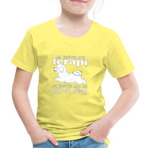 bichonterapi - Lasten premium t-paita